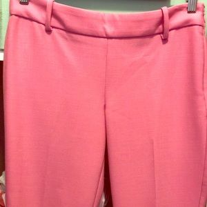 J.Crew Minnie Pant -Pink Lightweight Wool